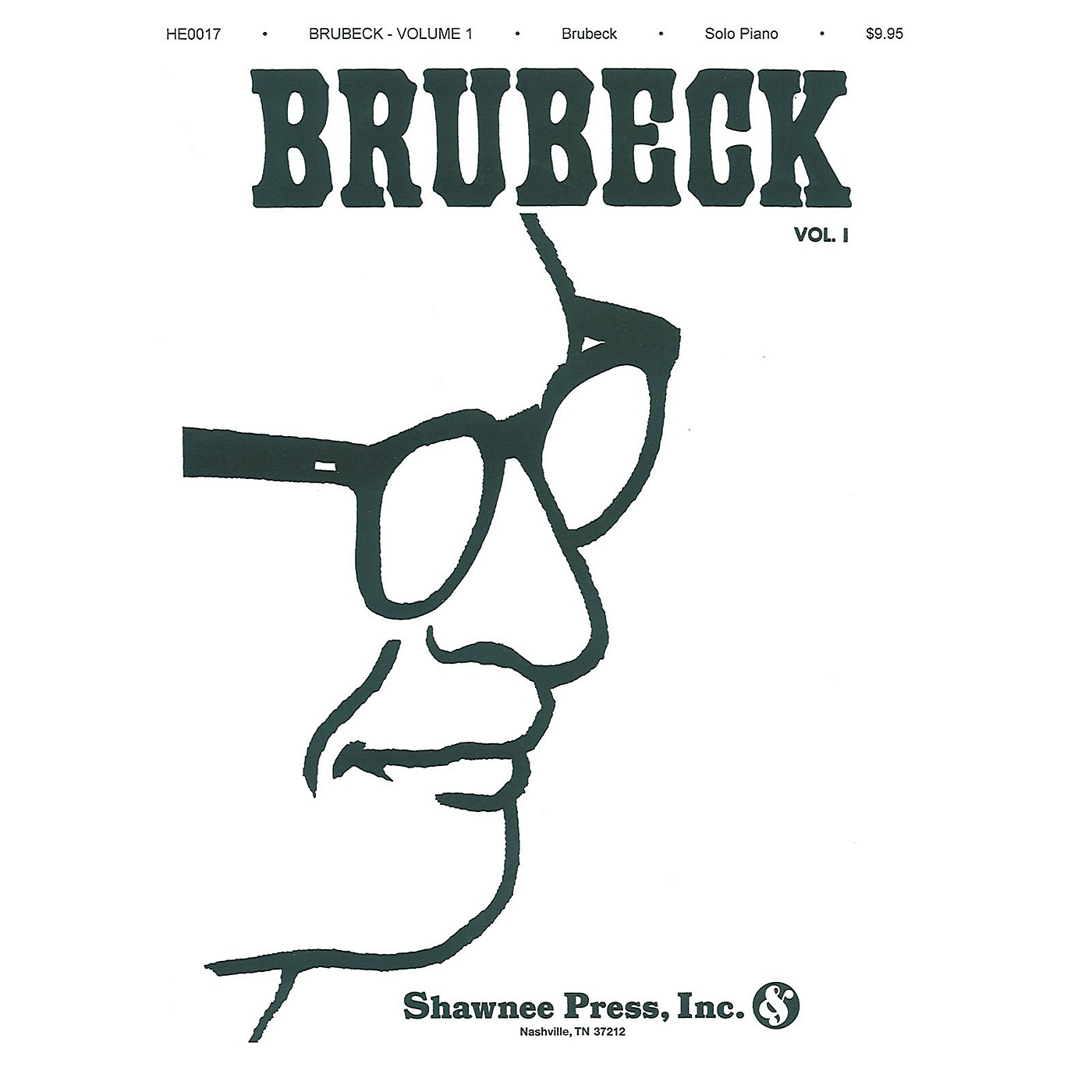 Shawnee Press Dave Brubeck - Volume 1 (Piano Solo Collection) by Dave Brubeck thumbnail