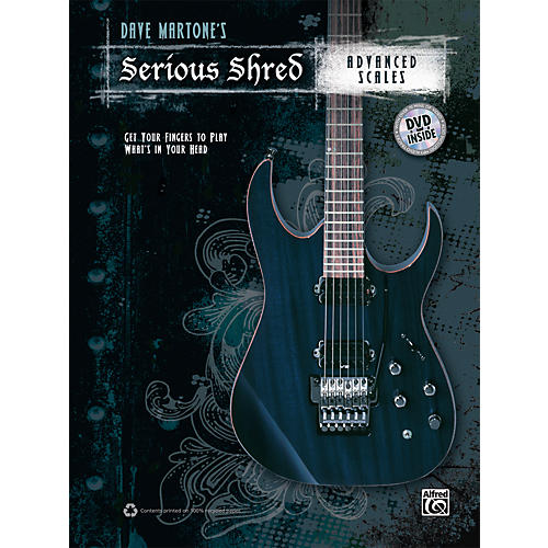 Alfred Dave Martones Serious Shred - Advanced Scales Book & DVD thumbnail