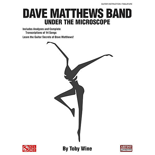 Cherry Lane Dave Matthews Band - Under the Microscope Guitar Educational Series Softcover Written by Toby Wine thumbnail