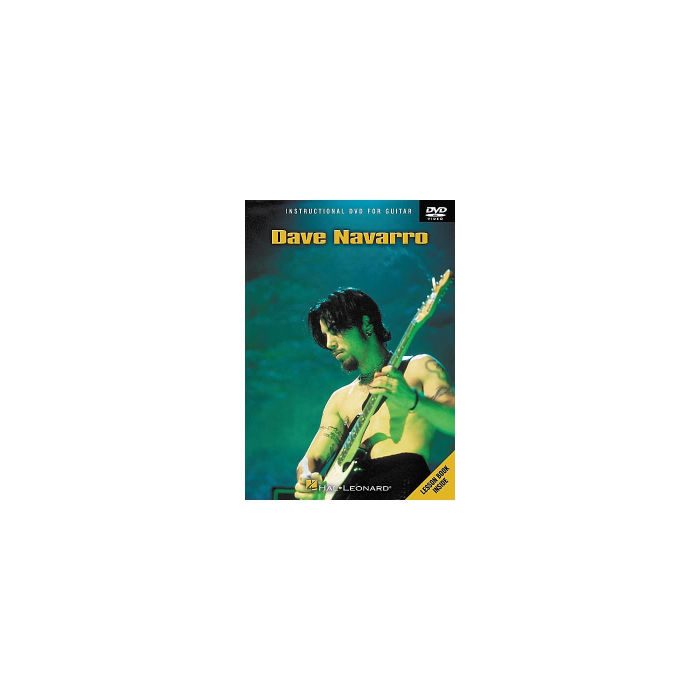 Hal Leonard Dave Navarro (DVD) thumbnail