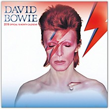 Browntrout Publishing David Bowie 2018 Wall Calendar