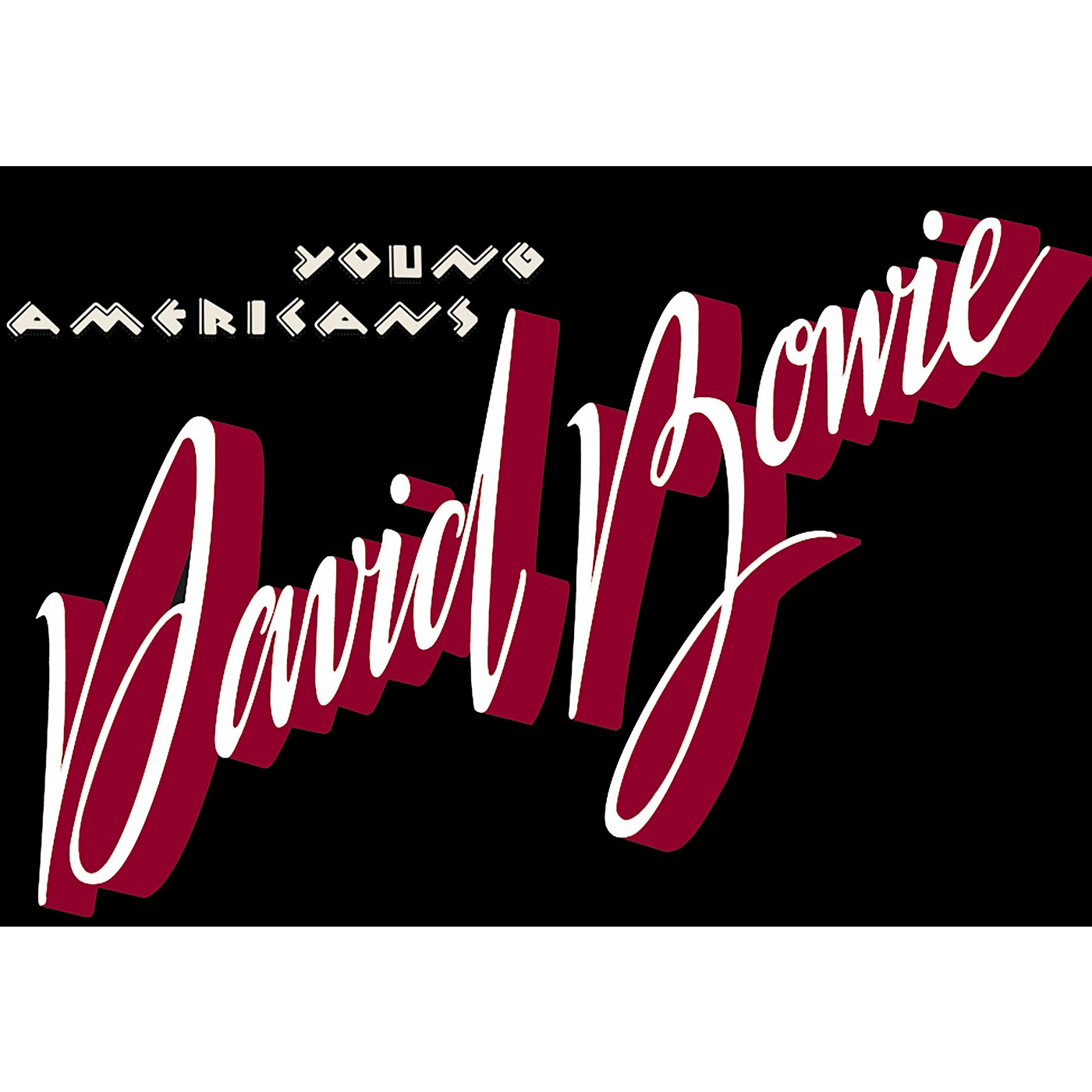 C&D Visionary David Bowie Young Americans Magnet thumbnail