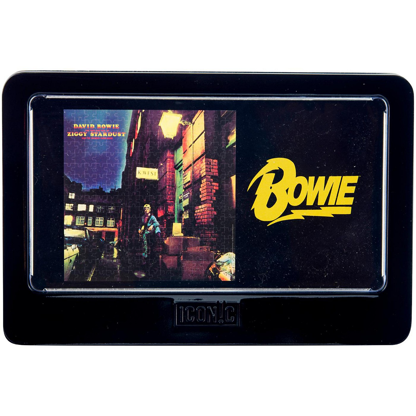 Iconic Concepts David Bowie Ziggy Stardust 3D Lenticular Jigsaw Puzzle in Tin Gift Box thumbnail
