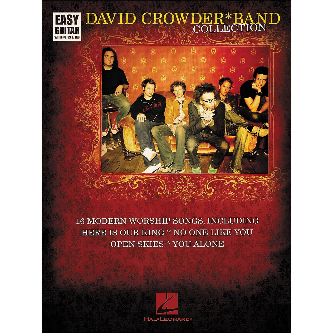 Hal Leonard David Crowder*Band Collection Easy Guitar Tab thumbnail