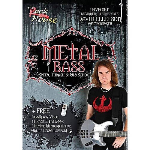 Rock House David Ellefson of Megadeth Metal Bass Speed, Thrash & Old School DVD thumbnail