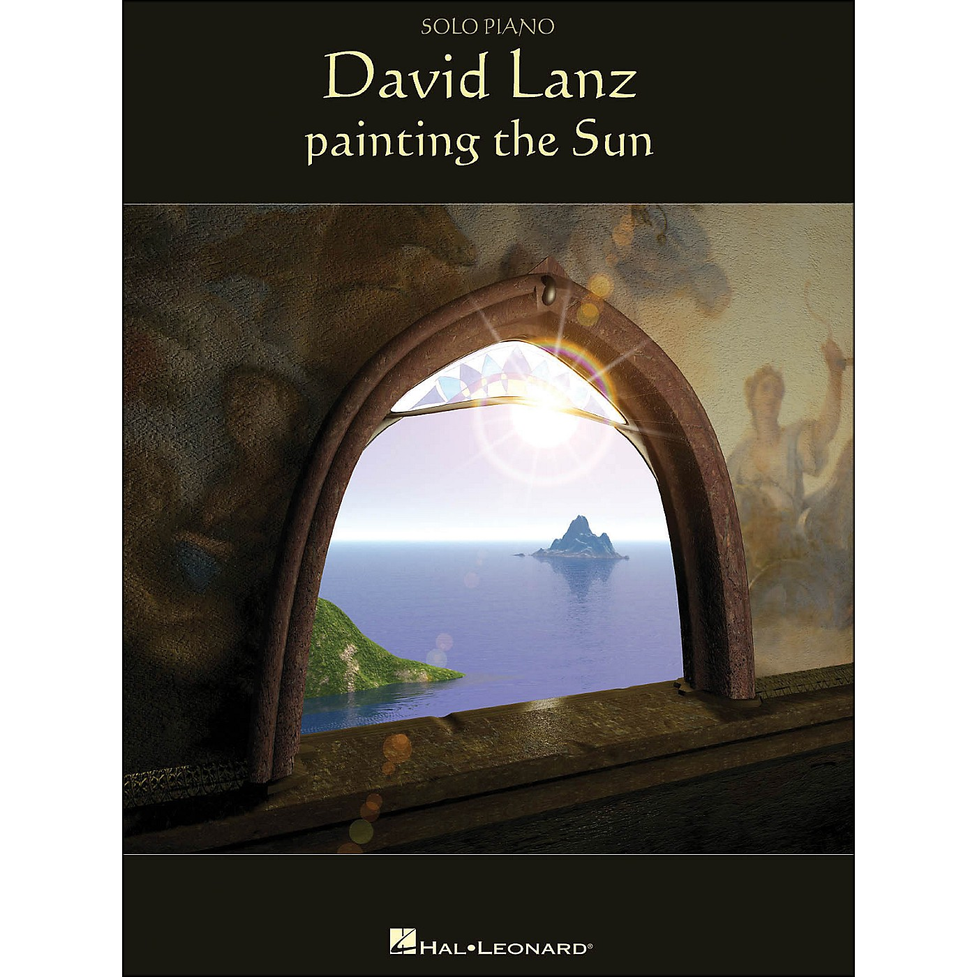 Hal Leonard David Lanz - Painting The Sun arranged for piano solo thumbnail