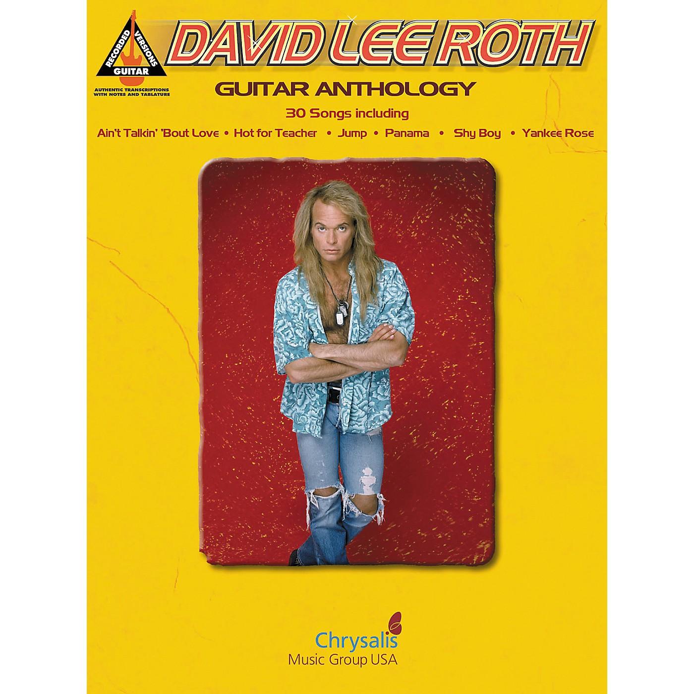 Hal Leonard David Lee Roth - Guitar Tab Songbook Anthology thumbnail
