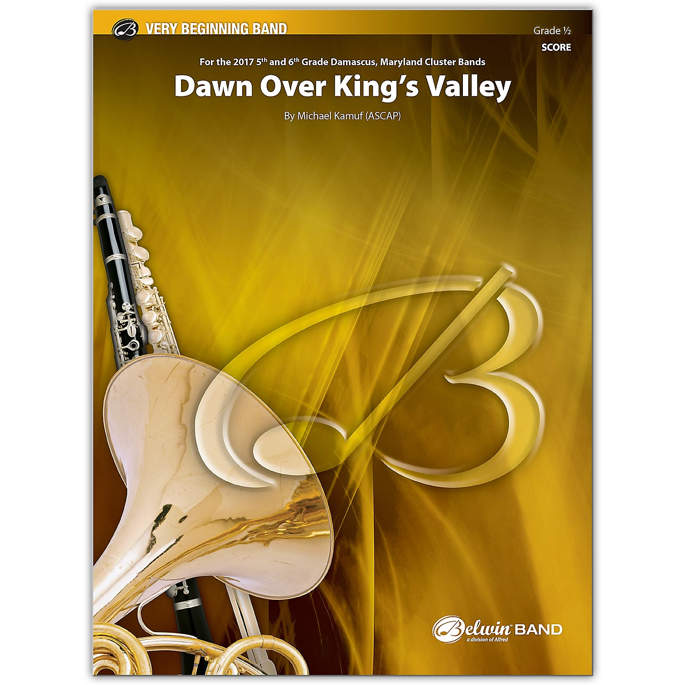 BELWIN Dawn Over King's Valley Conductor Score 0.5 (Very Easy) thumbnail