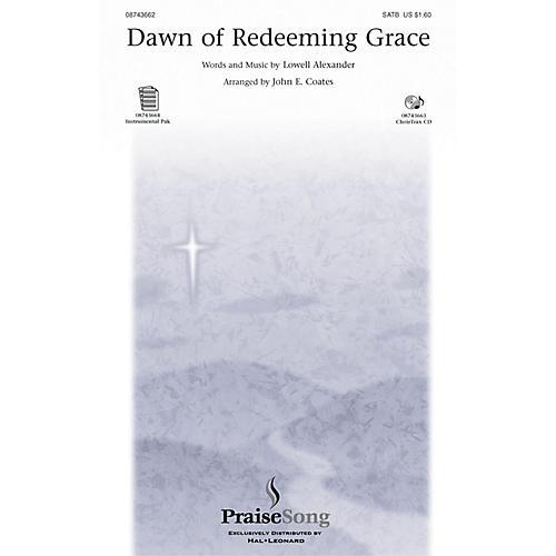 PraiseSong Dawn of Redeeming Grace SATB arranged by John E. Coates thumbnail