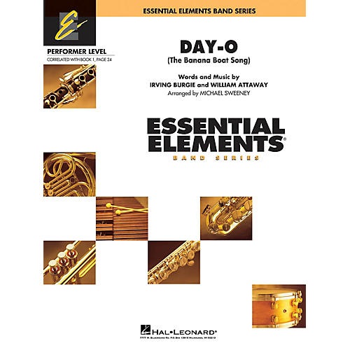 Cherry Lane Day-O (The Banana Boat Song) Concert Band Level .5 to 1 Arranged by Michael Sweeney thumbnail