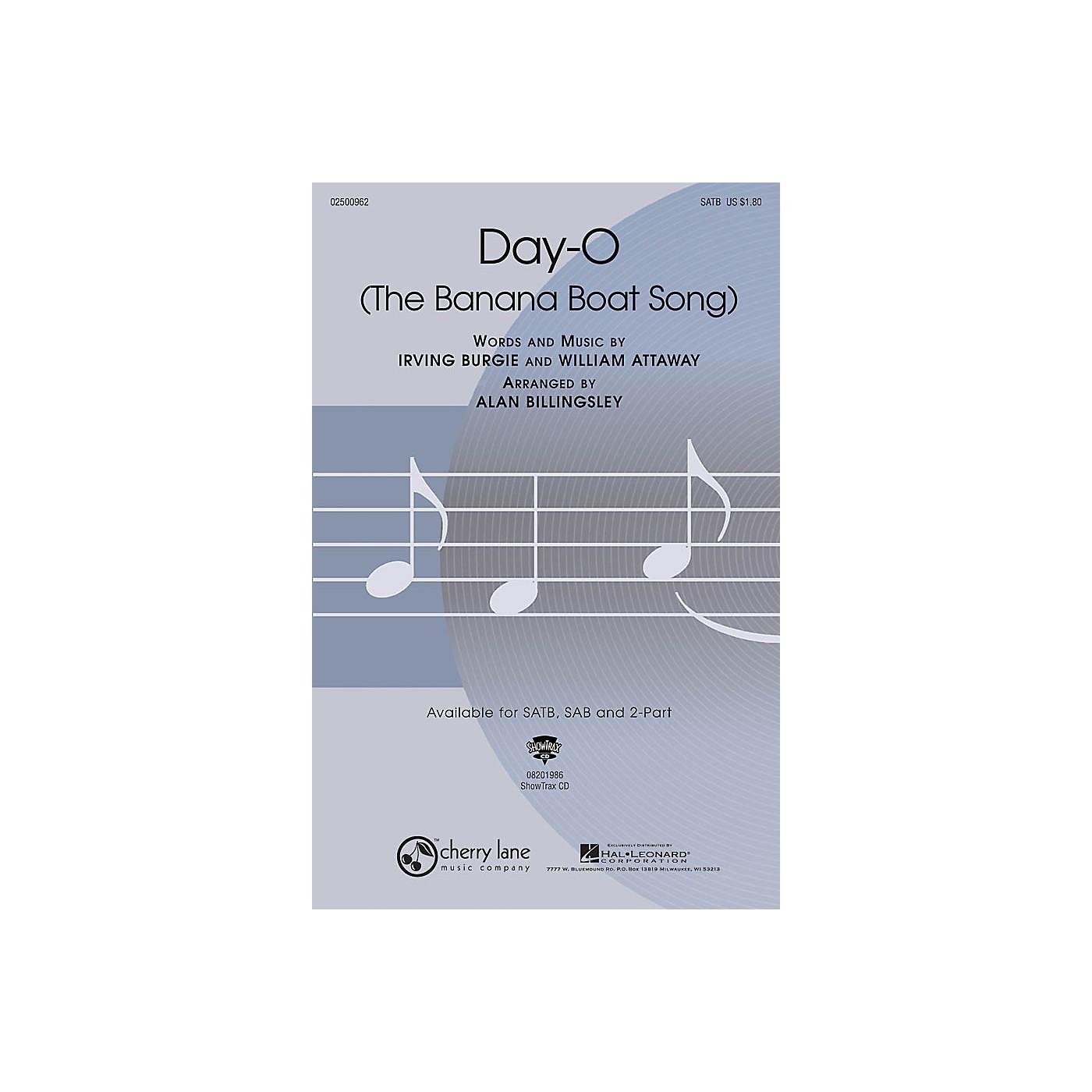 Cherry Lane Day-O (The Banana Boat Song) SATB arranged by Alan Billingsley thumbnail