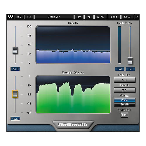 Waves DeBreath Native/TDM/SG Software Download thumbnail
