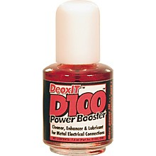 CAIG DeOxIT D100 Power Booster Metal Electric Connection Cleaner, Enhancer, and Lubricant