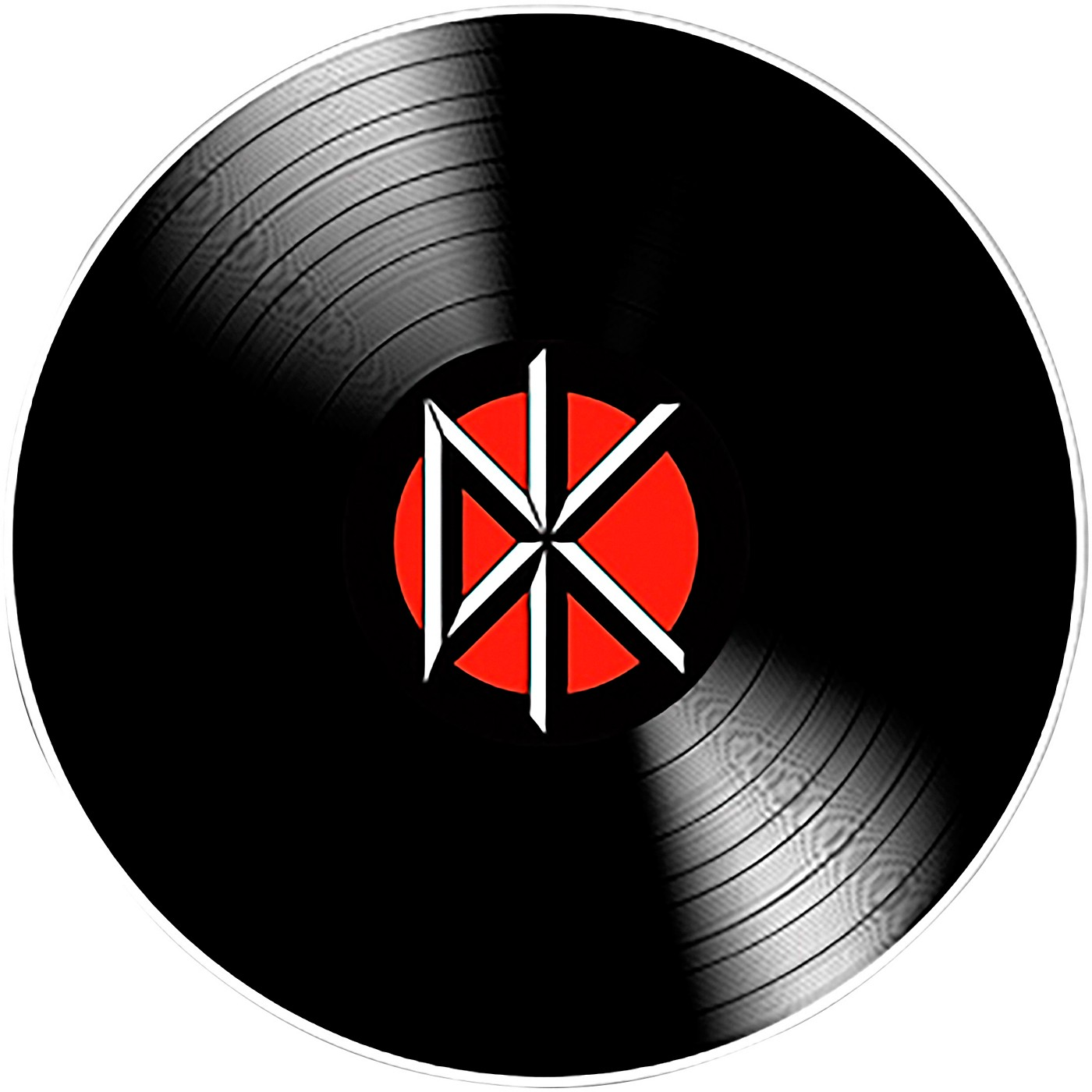 C&D Visionary Dead Kennedys DK Record Sticker thumbnail