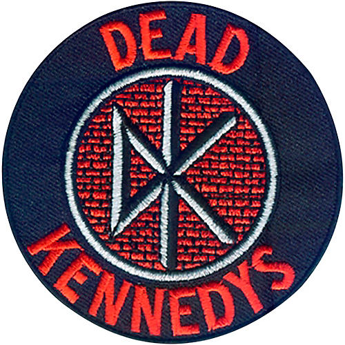 C&D Visionary Dead Kennedys Logo Patch thumbnail