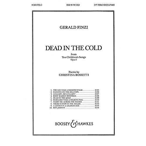 Boosey and Hawkes Dead in the Cold (from Ten Children's Songs, Op. 1) 2-Part composed by Gerald Finzi thumbnail