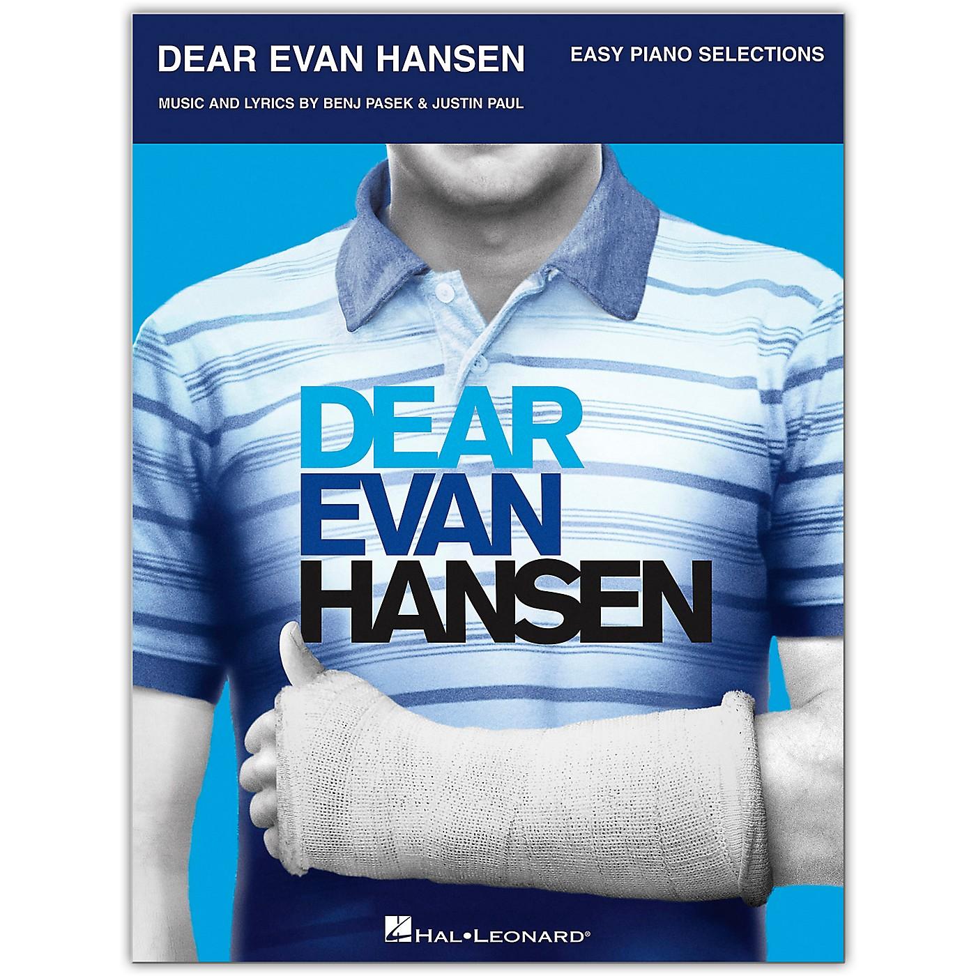 Hal Leonard Dear Evan Hansen - Easy Piano Selections thumbnail