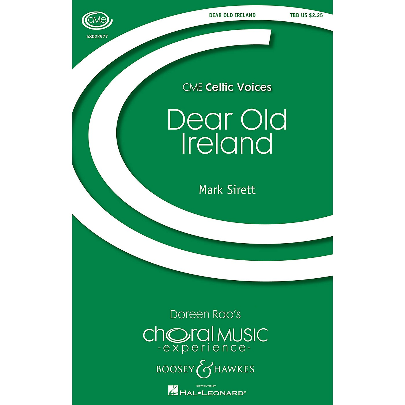 Boosey and Hawkes Dear Old Ireland (CME Celtic Voices) TBB composed by Mark Sirett thumbnail