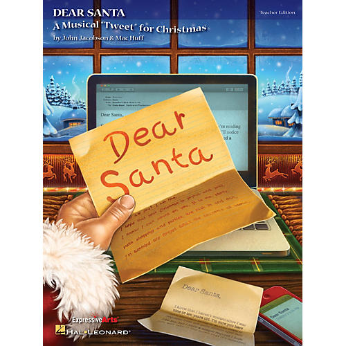 Hal Leonard Dear Santa (A Musical Tweet for Christmas) PREV CD Composed by John Jacobson thumbnail