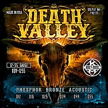 Kerly Music Death Valley Acoustic Guitar Strings (12-55)