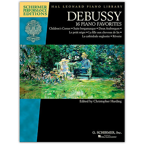 G. Schirmer Debussy - 16 Piano Favorites Schirmer Performance Edition by Claude Debussy thumbnail