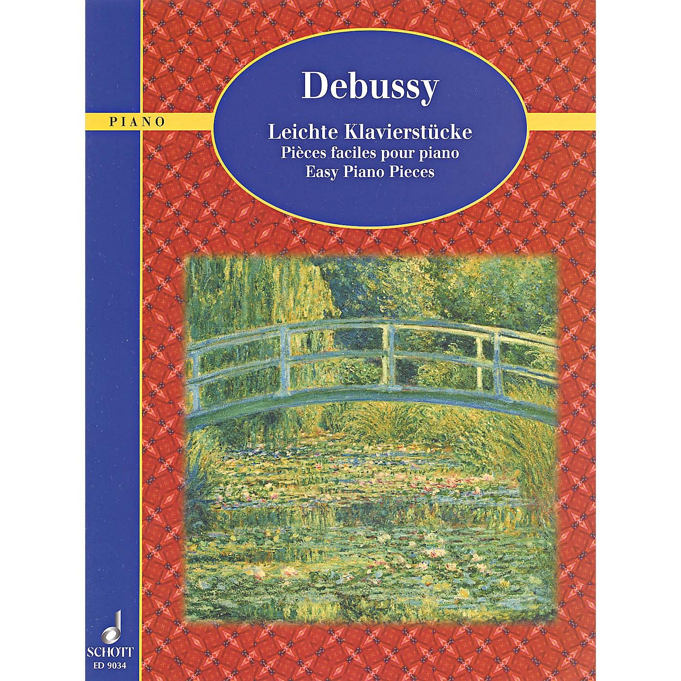 Schott Debussy - Easy Piano Pieces thumbnail