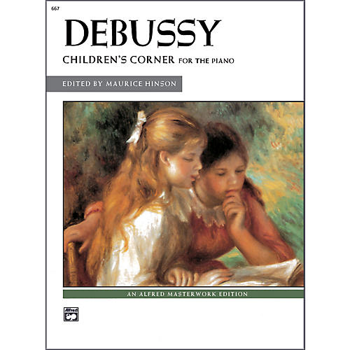 Alfred Debussy Children's Corner Late Intermediate / Early Advanced Piano thumbnail