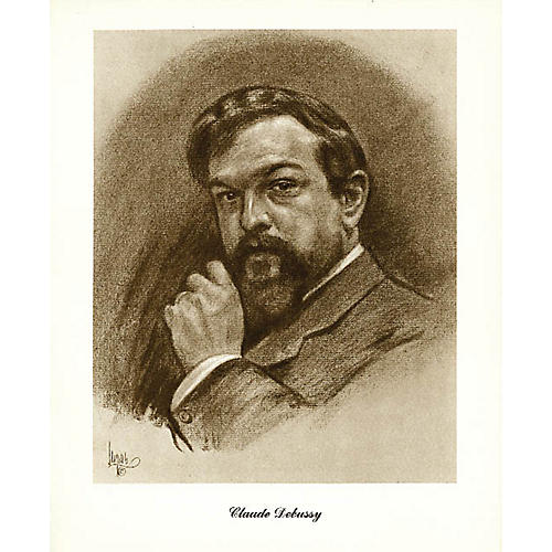 Music Sales Debussy (Lupas Large Portrait Poster) Music Sales America Series thumbnail