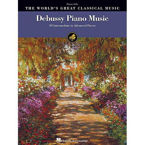 Hal Leonard Debussy Piano Music World's Greatest Classical Music Series Softcover (Intermediate to Advanced) thumbnail