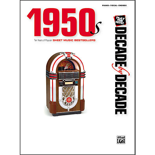 Alfred Decade by Decade 1950s Piano/Vocal/Chords-thumbnail