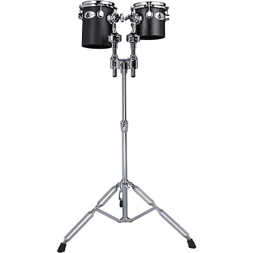 Ddrum Deccabons, Black 6 in. and 8 in.-thumbnail
