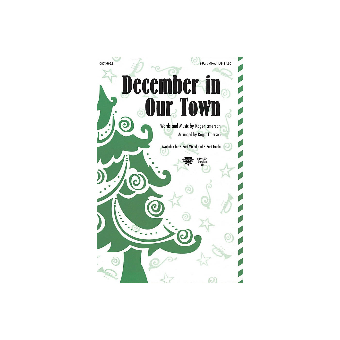 Hal Leonard December in Our Town ShowTrax CD thumbnail