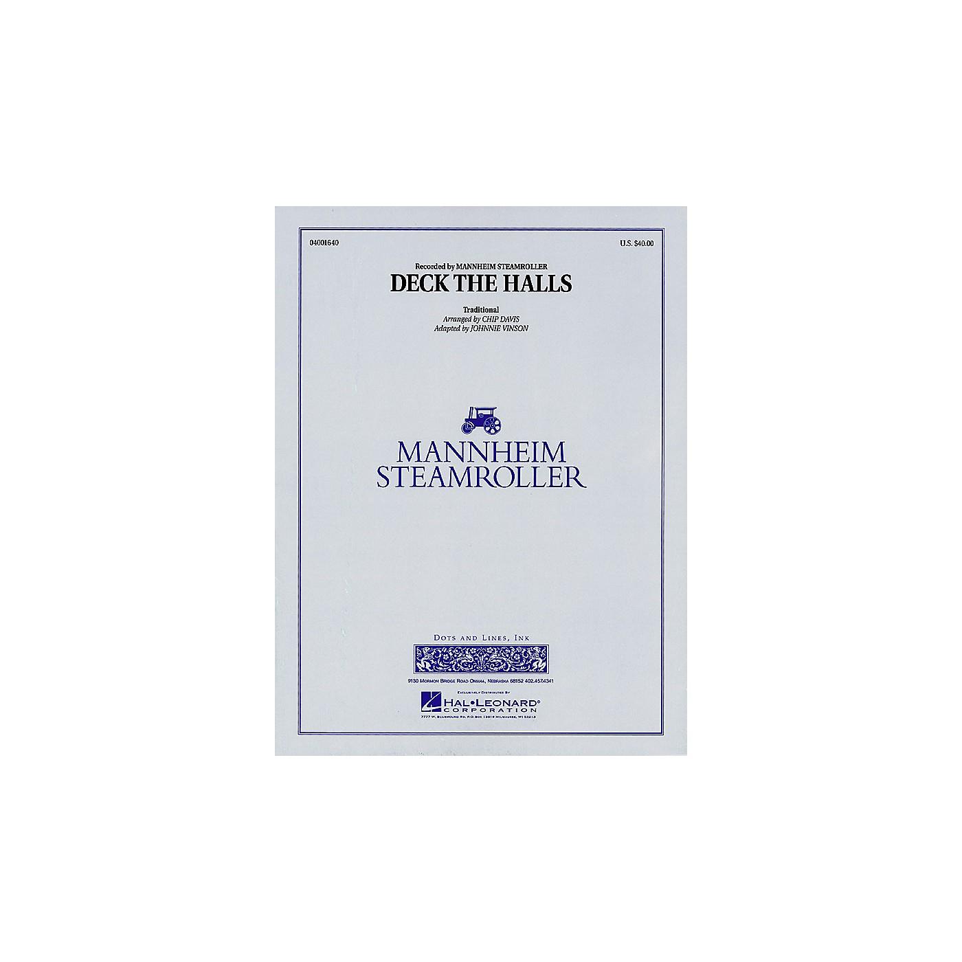 Hal Leonard Deck the Halls (Easy Version) Concert Band Level 2 by Mannheim Steamroller Arranged by Johnnie Vinson thumbnail