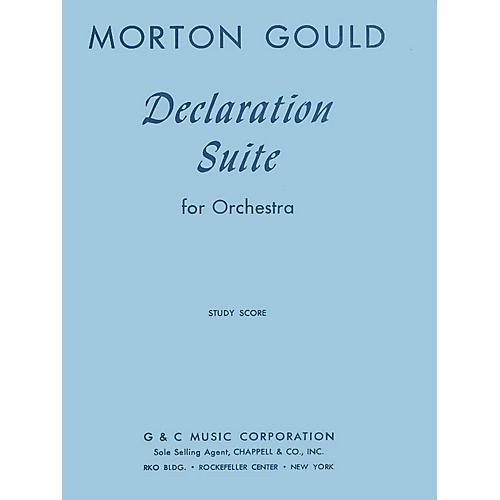 G. Schirmer Declaration Suite (Study Score) Study Score Series Composed by Morton Gould thumbnail