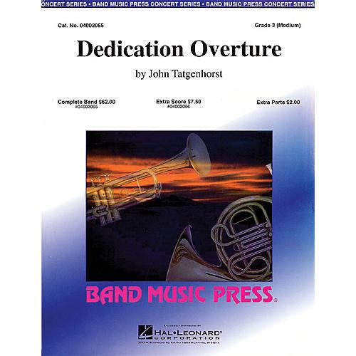 Hal Leonard Dedication Overture (Band Music Press) Concert Band Level 3 Composed by John Tatgenhorst thumbnail