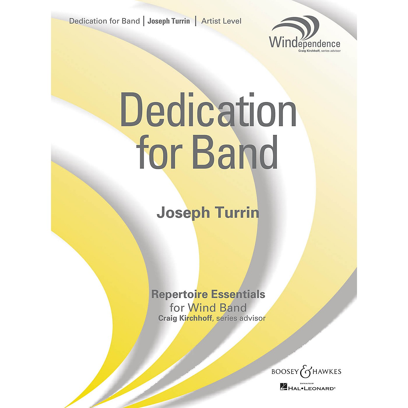 Boosey and Hawkes Dedication for Band Concert Band Level 5 Composed by Joseph Turrin thumbnail