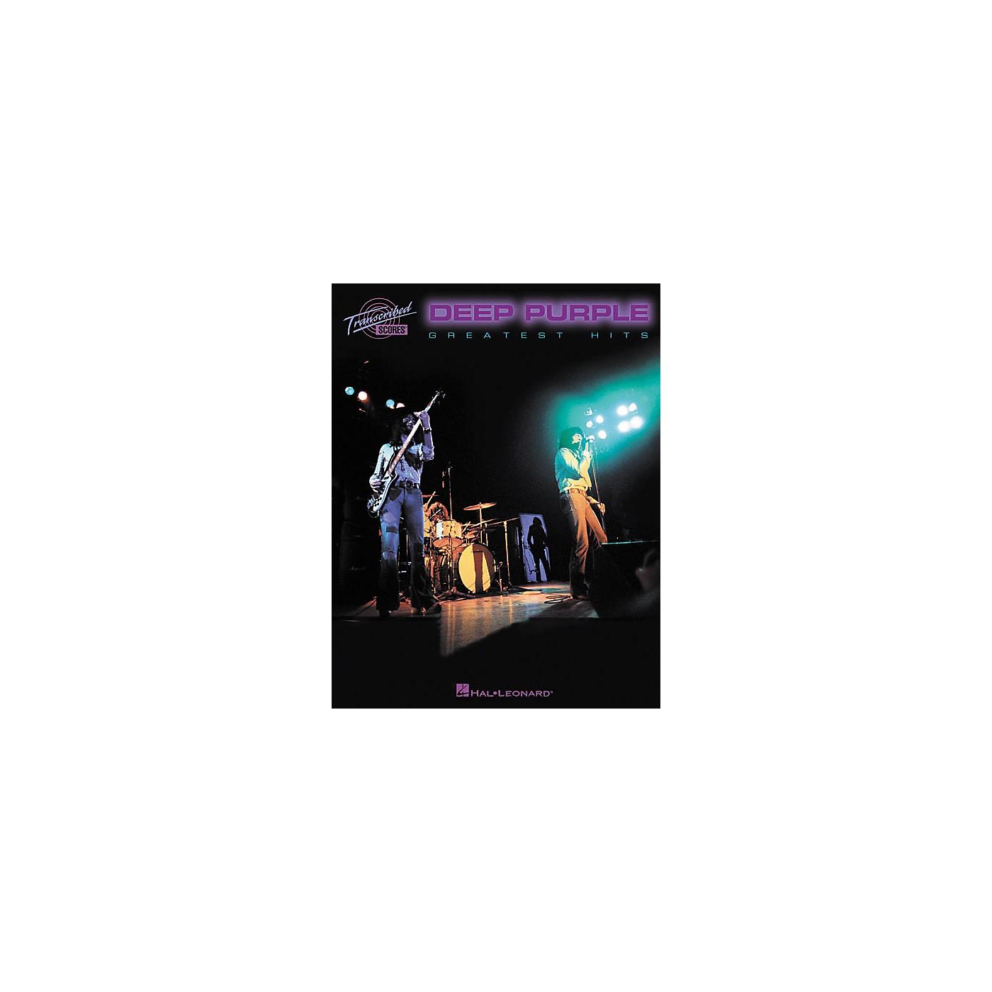 Hal Leonard Deep Purple - Greatest Hits Book thumbnail