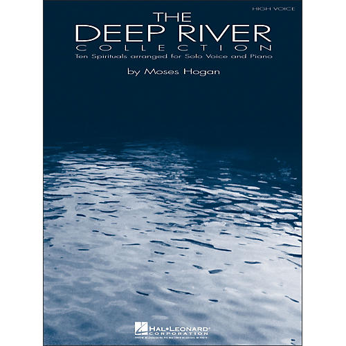 Hal Leonard Deep River - Ten Spirituals for Solo Voice And Piano Volume 1 for High Voice thumbnail