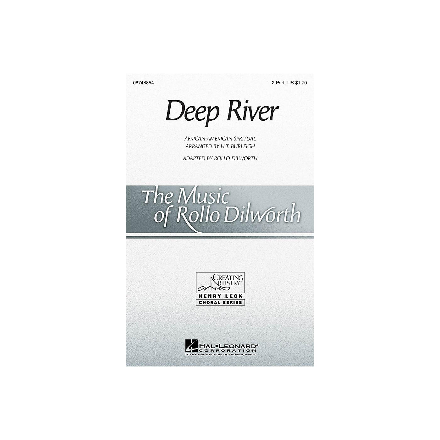 Hal Leonard Deep River 2-Part arranged by Rollo Dilworth thumbnail