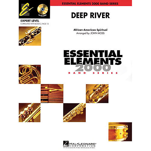 Hal Leonard Deep River (Includes Full Performance CD) Concert Band Level 2 Arranged by John Moss thumbnail