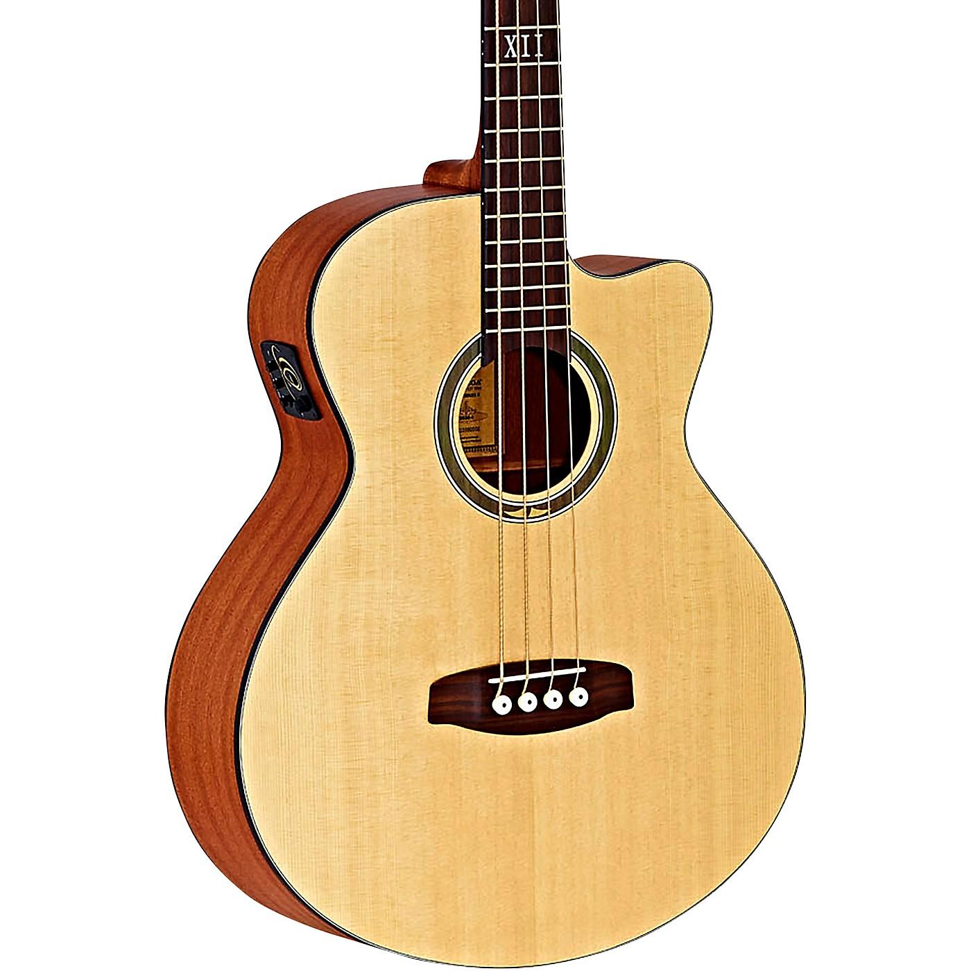 Ortega Deep Series 5 D538-4 Mahogany Acoustic-Electric Bass thumbnail