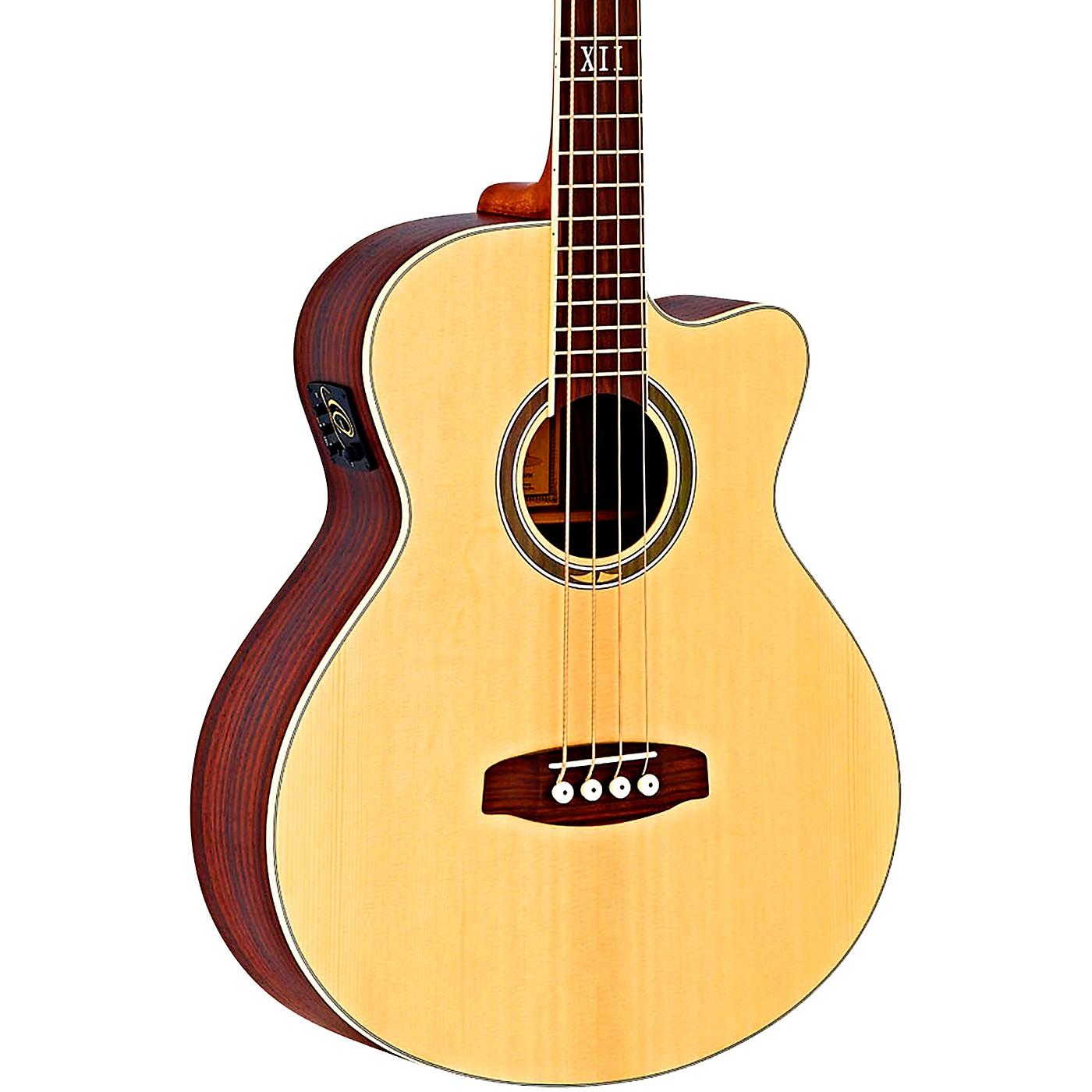 Ortega Deep Series 5 D558-4 Walnut Acoustic-Electric Bass thumbnail