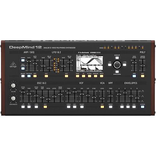 Behringer DeepMind 12D 12-Voice Polyphonic Desktop Synthesizer thumbnail