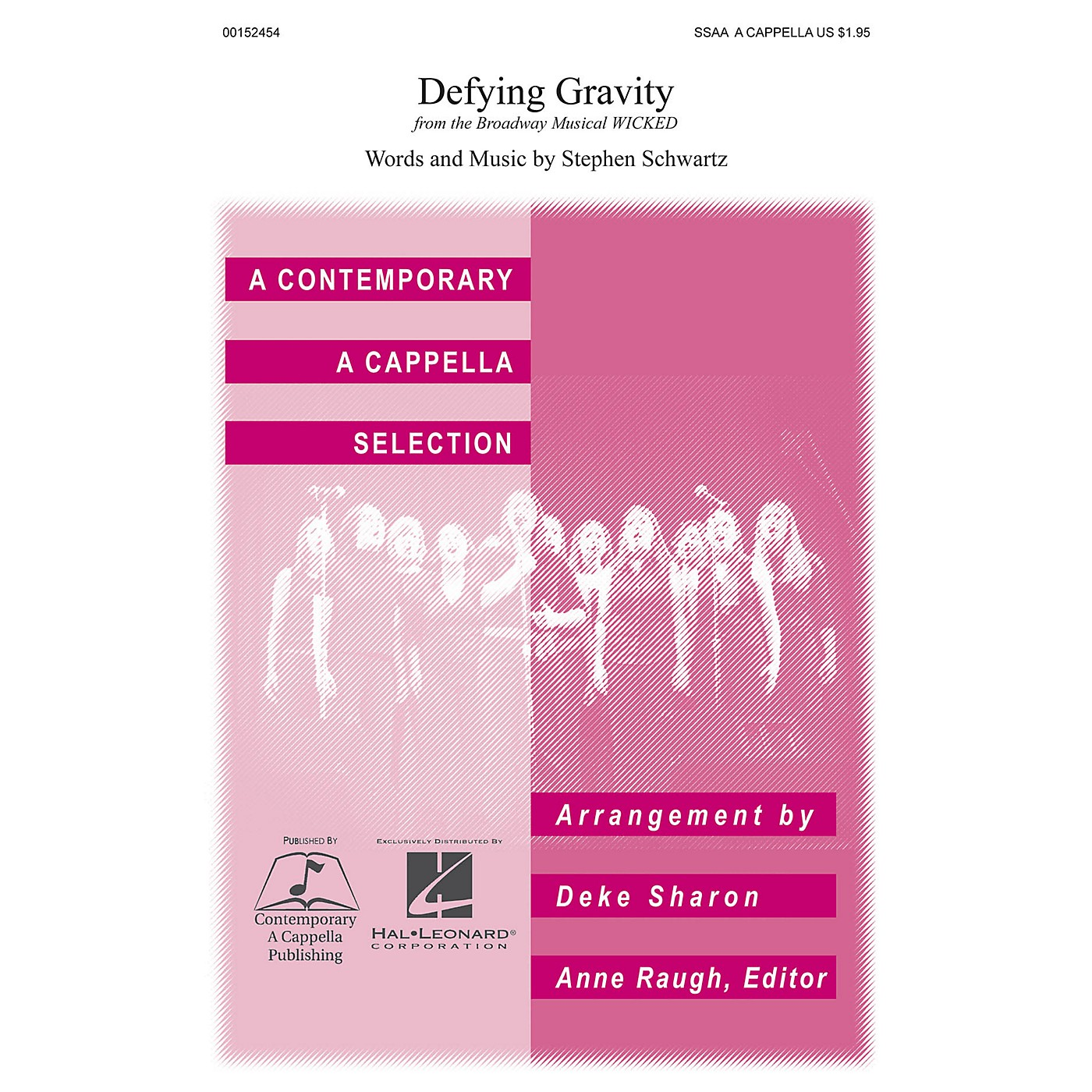 Contemporary A Cappella Publishing Defying Gravity SSAA A Cappella arranged by Deke Sharon thumbnail