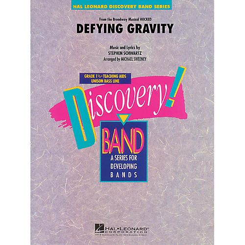 Hal Leonard Defying Gravity (from Wicked) Concert Band Level 1.5 Arranged by Michael Sweeney thumbnail