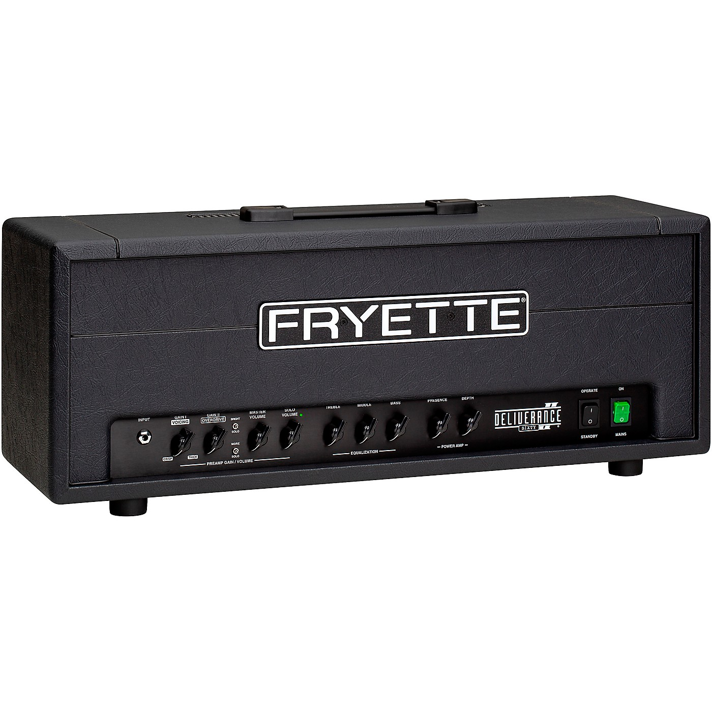 Fryette Deliverance Sixty D60 Series II 60W Tube Guitar Amp Head thumbnail