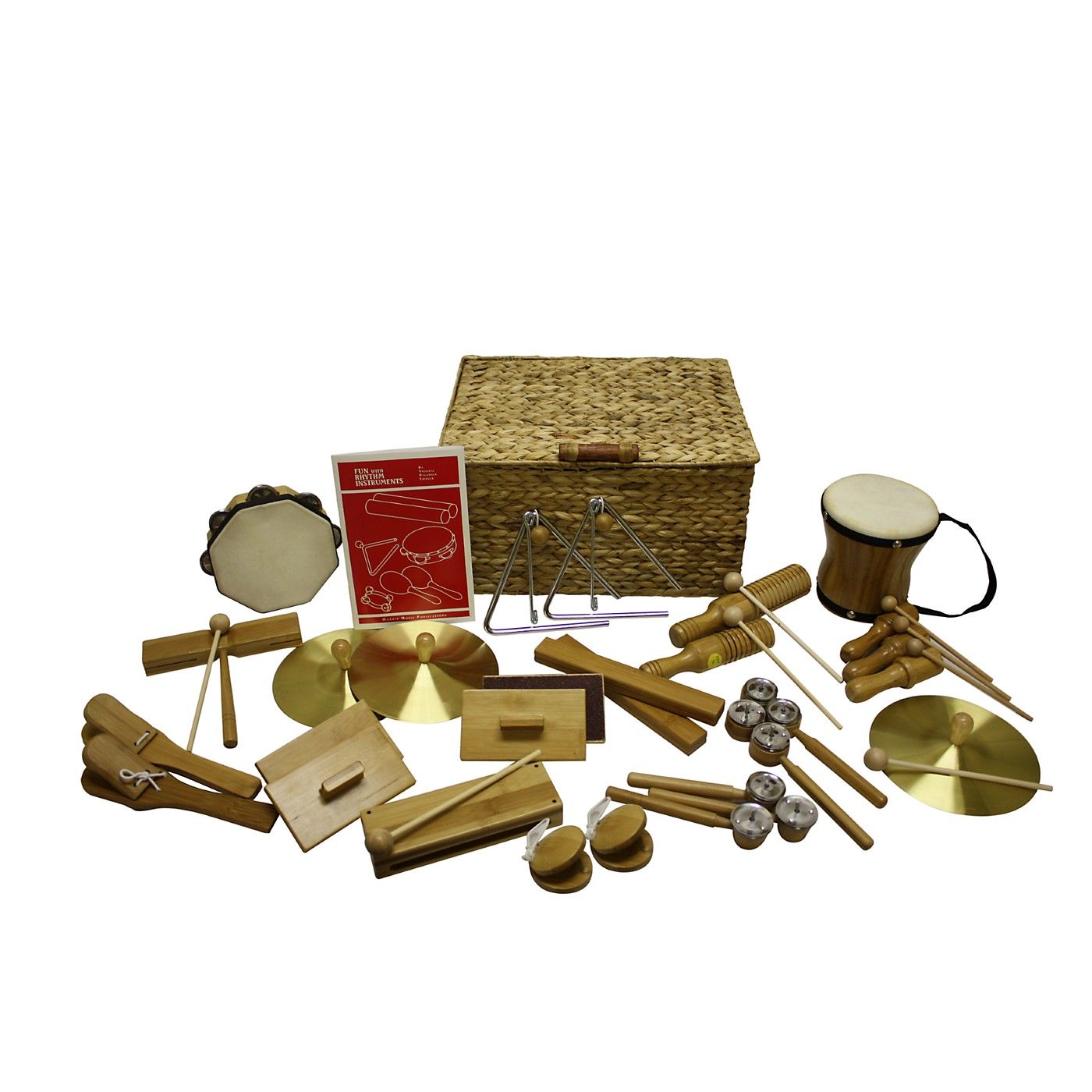 Rhythm Band Deluxe 25 Player Bamboo Rhythm Kit thumbnail
