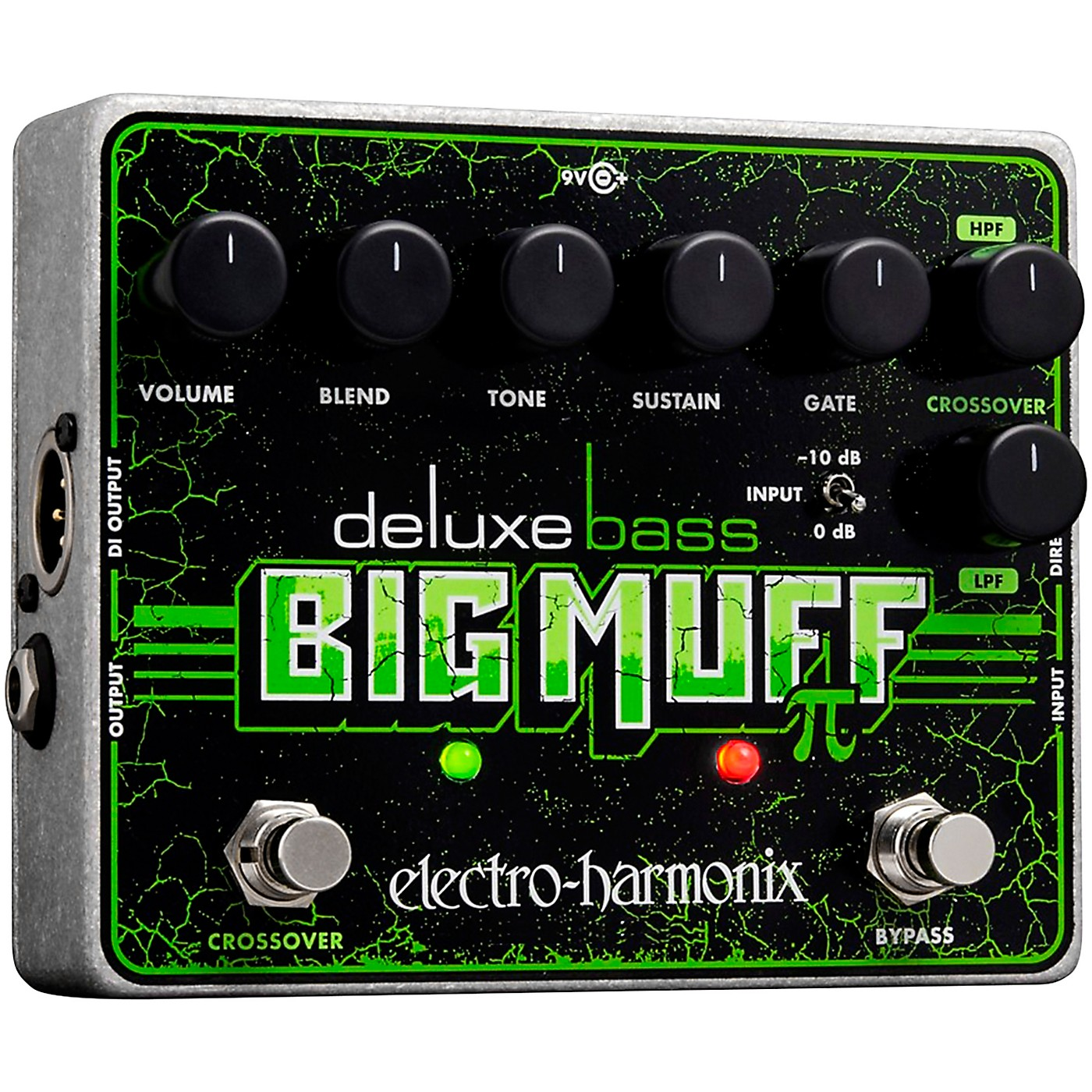 Electro-Harmonix Deluxe Bass Big Muff Pi Distortion Effects Pedal thumbnail