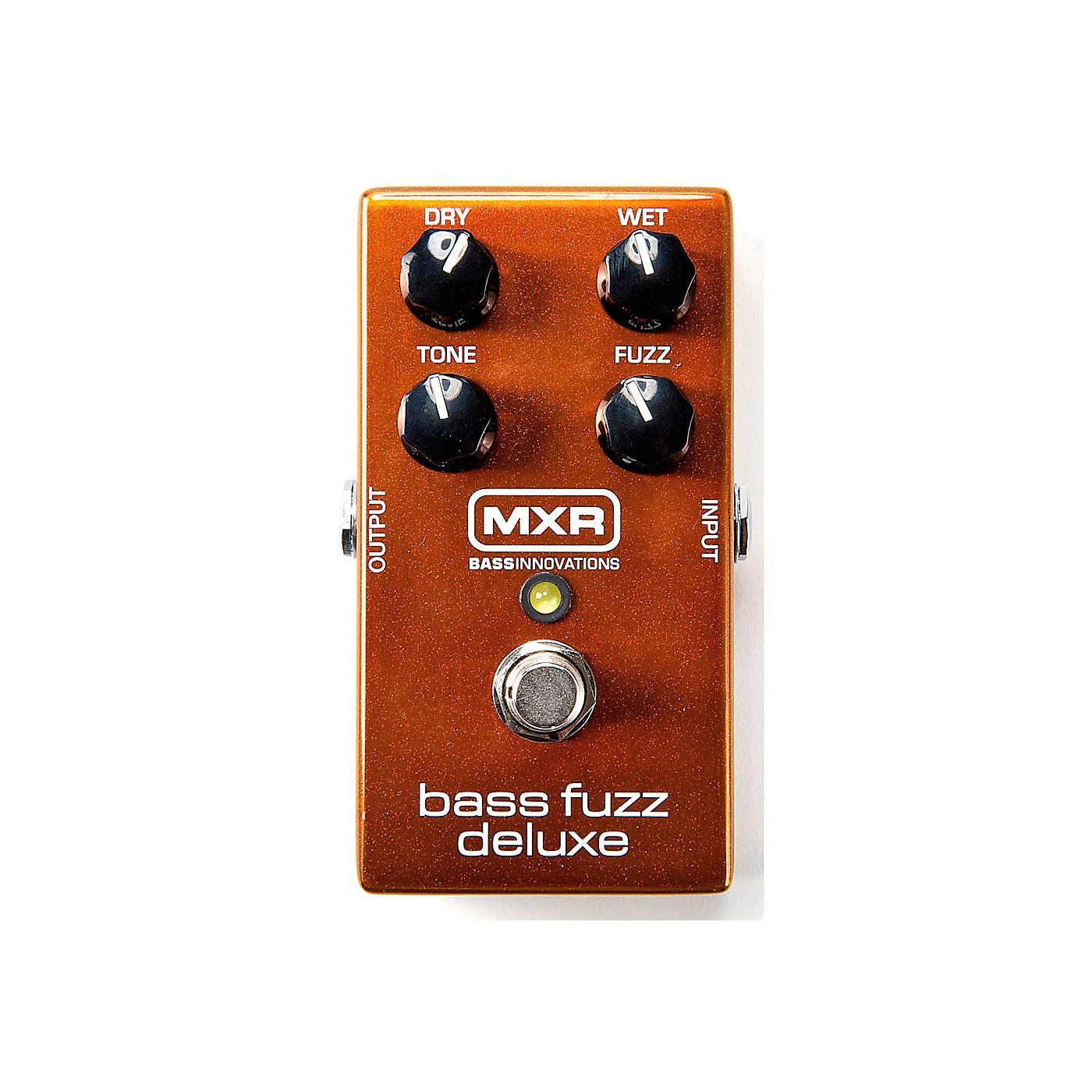 MXR Deluxe Bass Fuzz Effects Pedal thumbnail