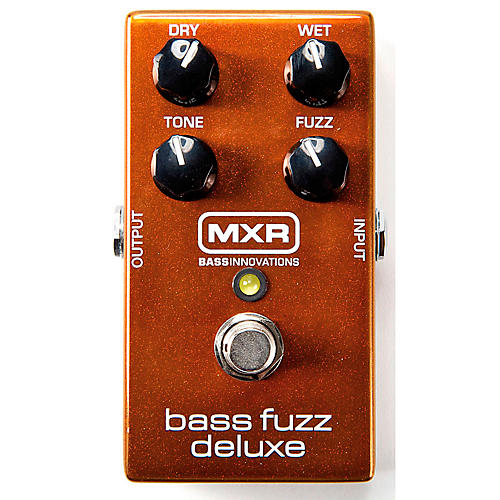 MXR Deluxe Bass Fuzz Effects Pedal thumbnail
